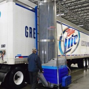 indiana beverage. Truck Wash. Bitimec Wash-Bots electric powered 626-EZ truck & trailer cleaning machines