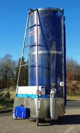Bitimec Unveils First Battery Powered Tanker Washing Machine