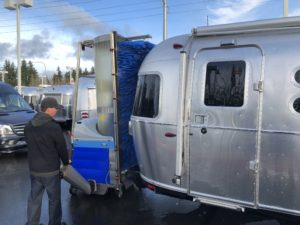 Powered RV Washing Machines