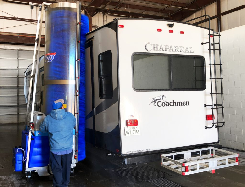 RV Wash Equipment